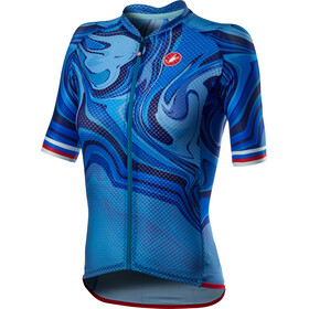 Castelli Climber's 2.0 Maglietta Donna, blu